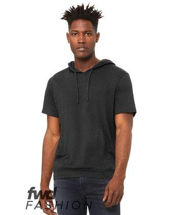 BELLA + CANVAS Fashion Jersey Short Sleeve Hoodie 3514