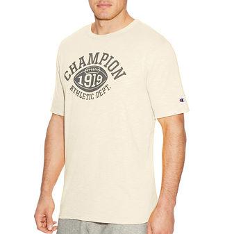 Champion Men Heritage Short Sleeve Slub Tee - Quarterback T1235 549522