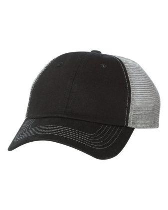 Sportsman Contrast Stitch Mesh Cap 3100