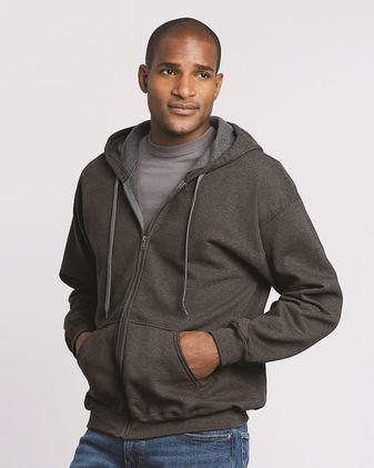 Gildan Heavy Blend™ Vintage Full-Zip Hooded Sweatshirt 18700