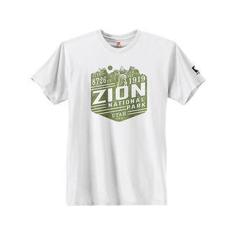 Hanes Zion National Park Graphic Tee GT49P Y07656