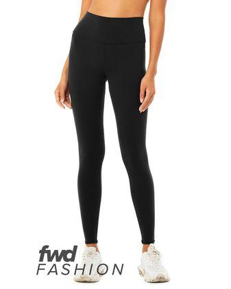 BELLA + CANVAS Fashion Women\'s High Waist Fitness Leggings 0813
