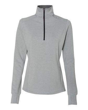 J. America Women\'s Omega Stretch Quarter-Zip Pullover 8433