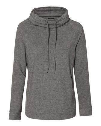 Weatherproof Women\'s Heat Last Faux Cashmere Funnelneck Sweatshirt W18706