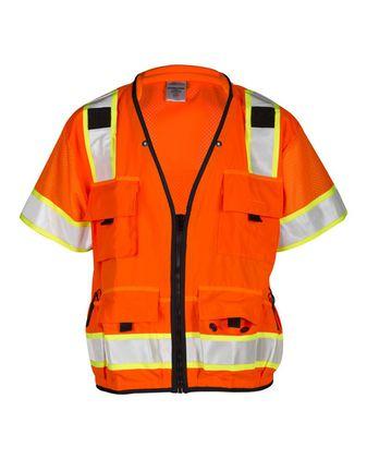 Kishigo Professional Surveyors Vest S5010-5011