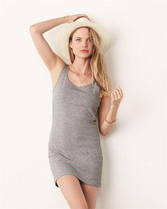 BELLA + CANVAS Women\'s Jersey Tank Dress 6012