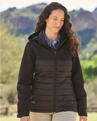 DRI DUCK Women\'s Vista Soft Shell Puffer Jacket 9415