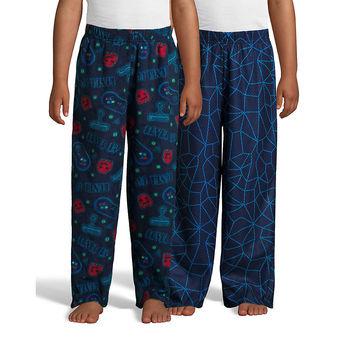 Hanes Boys\' Micro Fleece Sleep Pant 2-Pack 06030