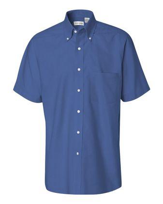 Van Heusen Short Sleeve Oxford Shirt 13V0042