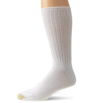 Gold Toe Mens Cotton Fluffie Sock, 3-Pack