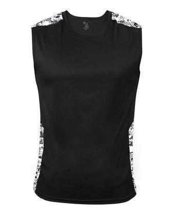 Badger Digital Camo Battle Sleeveless T-Shirt 4532