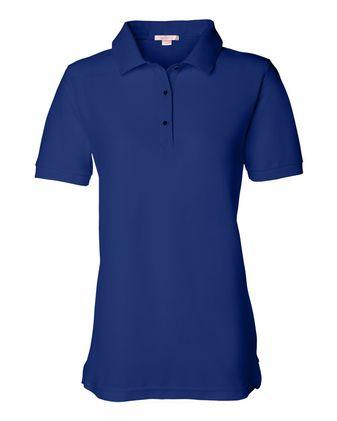 FeatherLite Women\'s Silky Smooth Pique Sport Shirt 5500