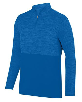 Augusta Sportswear Shadow Tonal Heather Quarter-Zip 2908