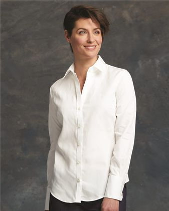 Calvin Klein Women\'s Pure Finish Cotton Shirt 13CK028