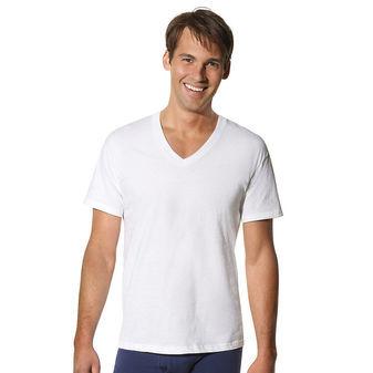 Hanes Mens Tall TAGLESS ComfortSoft V-Neck Undershirt 3-Pk 115HNT