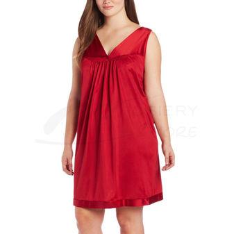 Vanity Fair Coloratura Sleepwear Plus Size Short Gown 30807