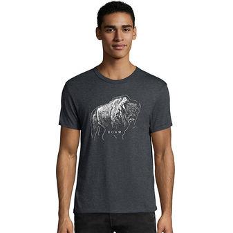 Hanes Men\'s Bison Roam Graphic Tee GT49 Y06367