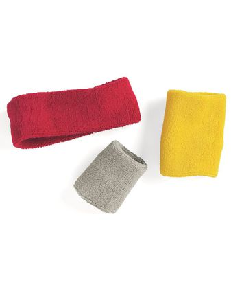 Mega Cap Terry Cloth Wristbands (Pair) 1253