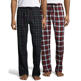 Hanes Men\'s Flannel Pant 2-Pack 02006/2