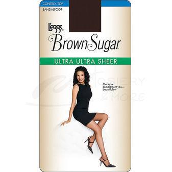 Leggs Brown Sugar Ultra Sheer Control Top Pantyhose 74402