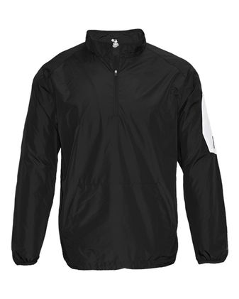 Badger Youth Sideline Long Sleeve Pullover 2641