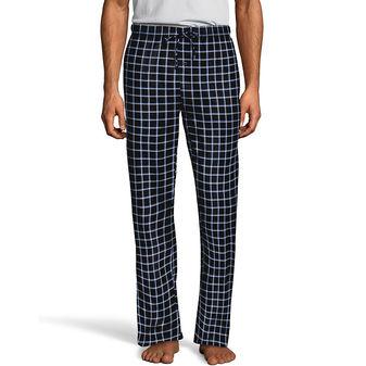 Hanes Men\'s ComfortSoft® Cotton Printed Lounge Pants 01000