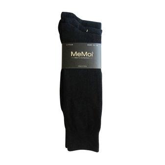 MeMoi Mens Flatknit Crew 3 Pair Pack MM-451