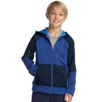 Hanes Sport™ Boy\'s Tech Fleece Full Zip Hoodie OD257
