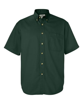 Sierra Pacific Short Sleeve Cotton Twill Shirt 0201
