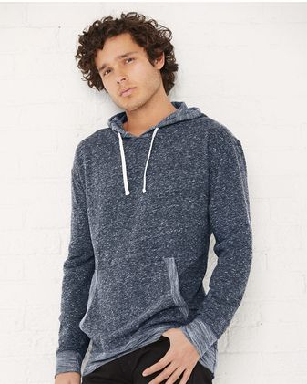 LAT - Harborside Melange French Terry Hooded Pullover - 6779