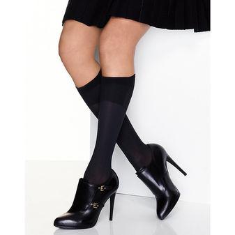 Hanes Perfect X-Temp® Blackout Knee Socks 2-Pack HST013