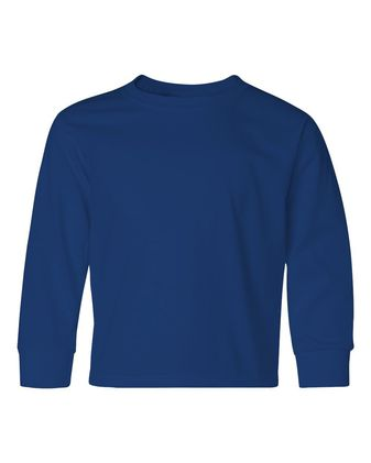JERZEES Dri-Power® Youth Long Sleeve 50/50 T-Shirt 29BLR