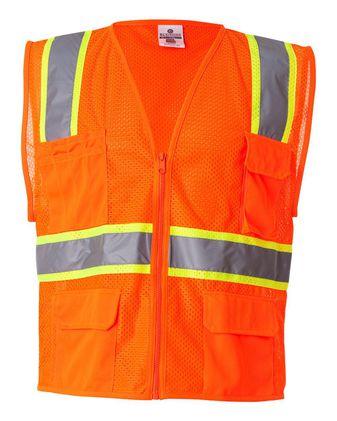 Kishigo Ultra-Cool Multi Pocket Vest 1195-1196