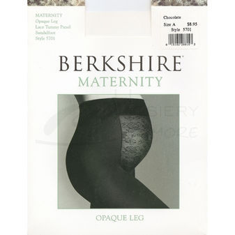 Berkshire Women\'s Maternity Opaque Pantyhose 5701