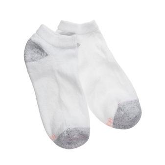 Hanes Womens Low Cut Socks Extended Size 10-PK 680/10P