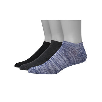Hanes Men\'s 1901 Heritage Super Low No Show Socks 3-Pack HT6L3