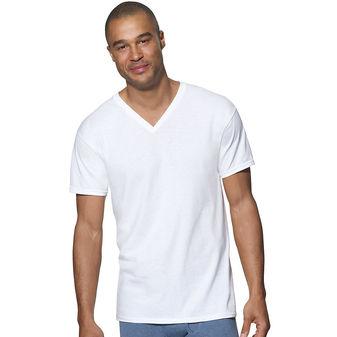 Hanes Ultimate™ ComfortSoft® TAGLESS® Men\'s V-Neck Undershirt 3-Pack 7880W3