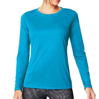 Hanes Sport Cool DRI Women\'s Performance Long-Sleeve T-Shirt O9308