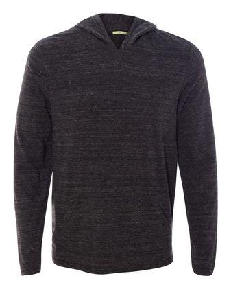 Alternative Eco-Jersey Marathon Hooded Pullover T-Shirt 12365