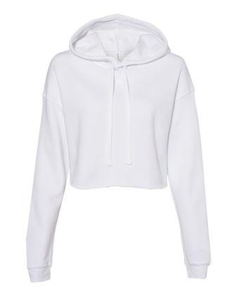 BELLA + CANVAS Women\'s Cropped Fleece Hoodie 7502