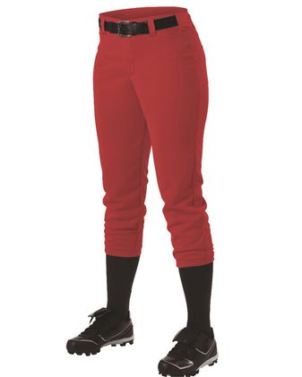 Alleson Athletic Women\'s Belt Loop Fast-Pitch Pants A00068
