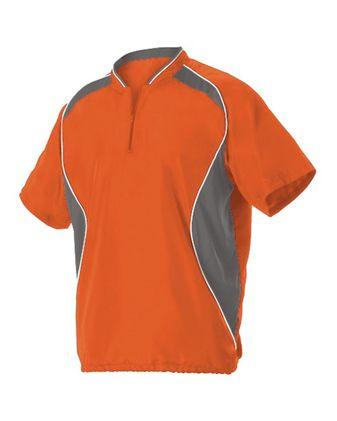 Badger Youth Short Sleeve Baseball Batters Jacket 3JSS13Y