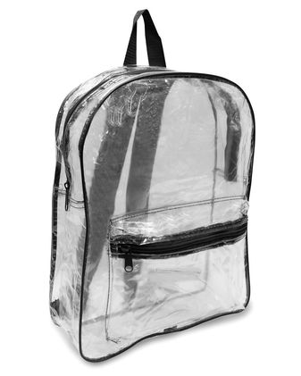 Liberty Bags Clear PVC Backpack 7010