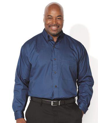 FeatherLite Long Sleeve Twill Shirt Tall Sizes 7281