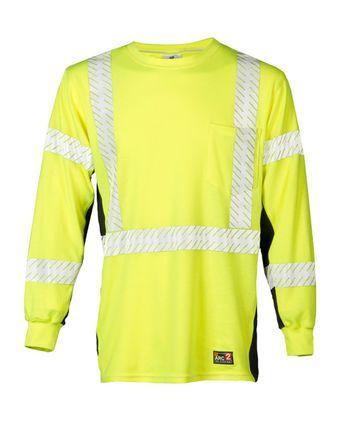 Kishigo Flame Resistant Premium Black Series® FR Long Sleeve T-Shirt F406