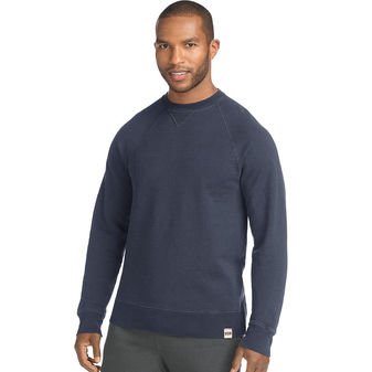 Hanes Men\'s 1901 Heritage Fleece V-notch Crewneck Sweatshirt O8345 549632