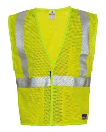 Kishigo Flame-Resistant Breathable Mesh Vest FM389