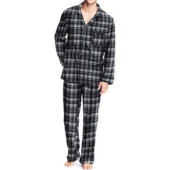Hanes Mens Flannel Pajamas 0140/0140X