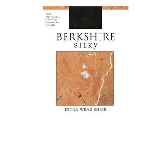 Berkshire Women\'s Silky Extra Wear Sheer Control Top Pantyhose 4428