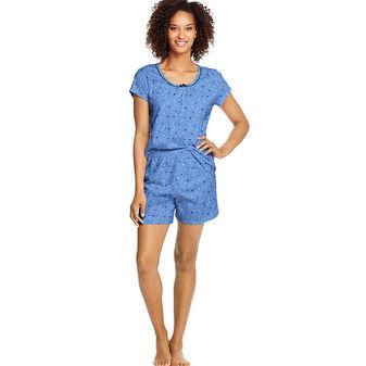 Hanes Women\'s Knit Tee & Shorts Sleep Set HAC80105